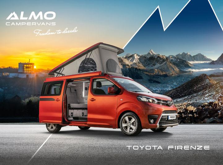 ALMO Campervans Corporate Design