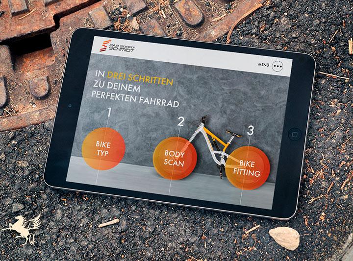 Radsport Schmidt Corporate Design
