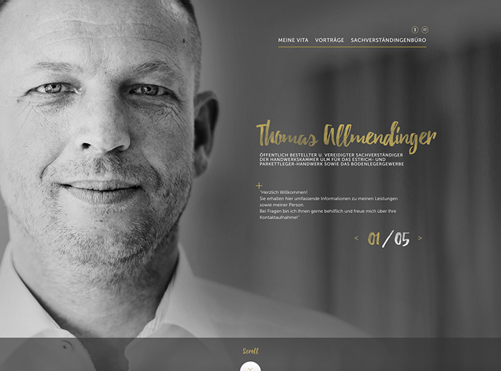 Thomas Allmendinger Website
