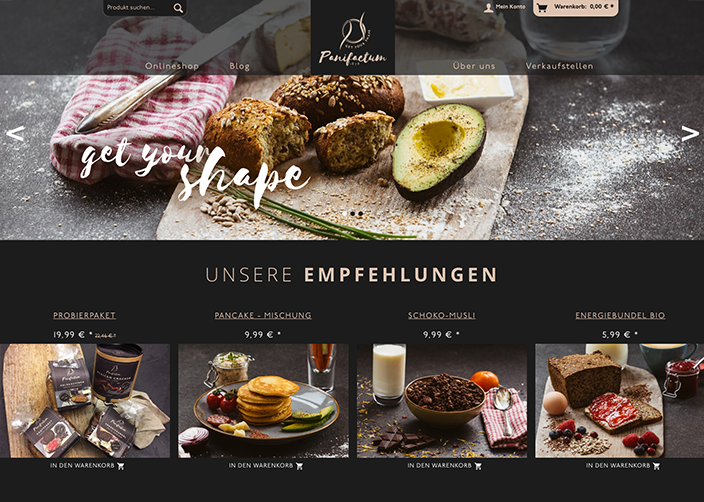 Panifactum Online-Shop