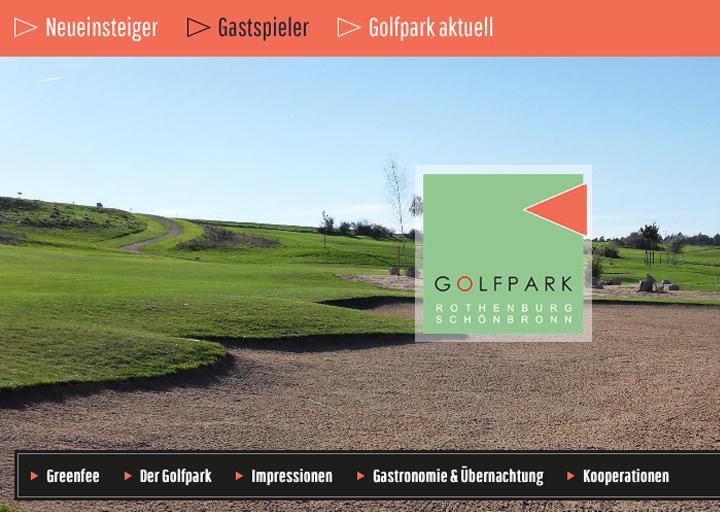 Golf Rothenburg Website