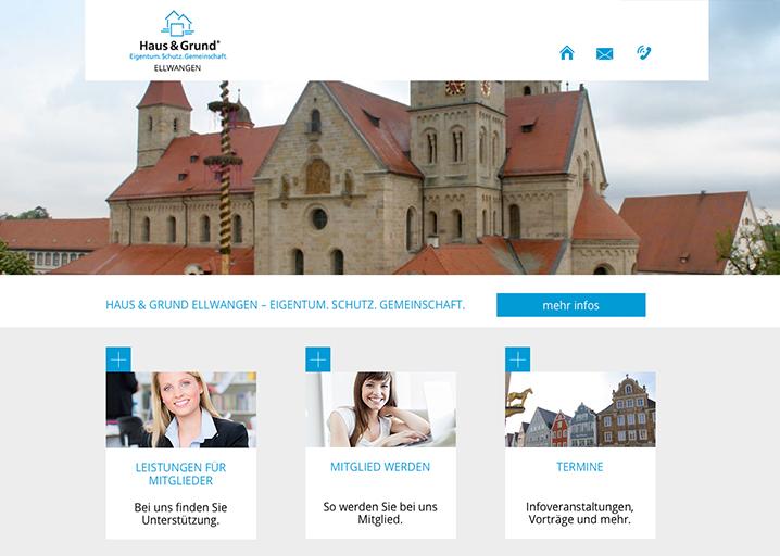 Haus und Grund Website
